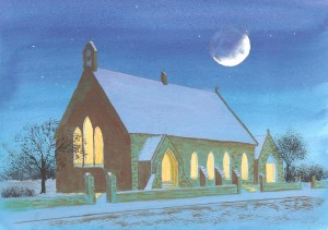 church-snowscene-painting-without-border